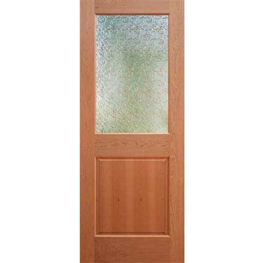 2 panel shaker style interior doors can be equipped with glass