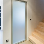 : 24 inch frosted glass interior door is good for bathroom or toilet