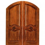 : 30 inch is an ideal size for double front entry doors