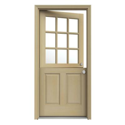 36 inch interior Dutch door is preferred by owners of spacey rooms