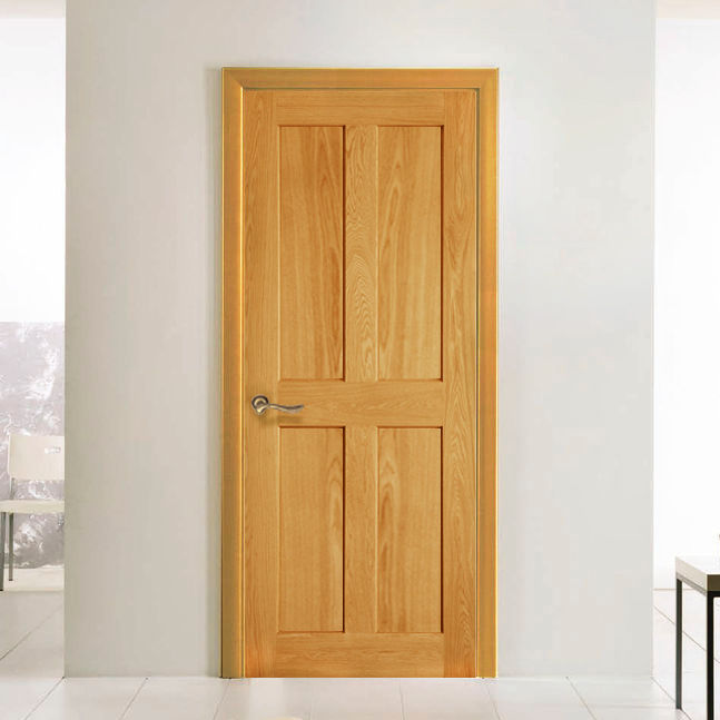 4 flat panel interior doors design is often chosen for a rustic or provence style of your home