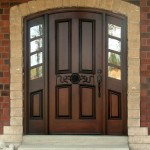 : Arched entry doors with sidelights are the best way to make your house look