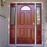 : Arched exterior door trim should be definitely purchased to make your life better