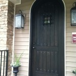 : Arched front doors are symbolically called the Gates of Heaven