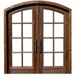 : Arched top entry doors are flawless and durable