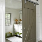 : Barn door hardware track can be replaced if broken