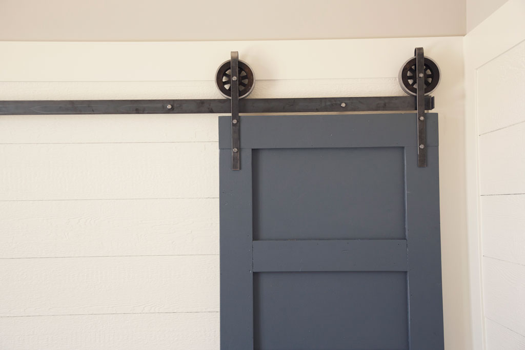 Barn door inexpensive hardware is available on Easter eve