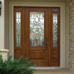 : Best entry doors with sidelights made of tempered glass or fiberglass