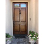 : Best exterior entry doors are valued for their wearproof qualities