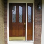 : Best front doors for ranch style homes have to fit in the overall view of the house