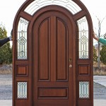 Best quality entry doors are made of high-class materials