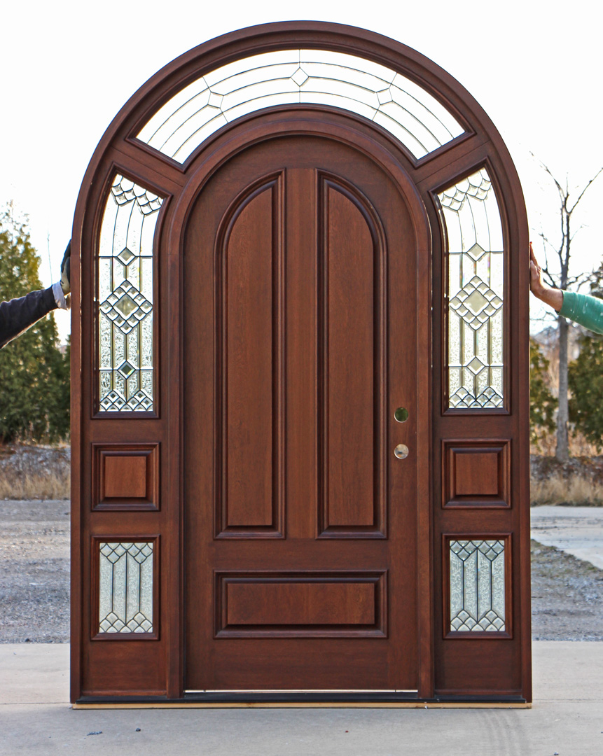 Best quality entry doors are made of highclass materials