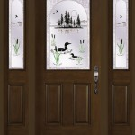 Best quality fiberglass entry doors are available in many glass option and panel designs