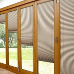 : Bi fold patio doors with integral blinds are perfect for warm and sunny climate