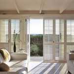 : Bi fold patio doors with internal blinds provide great comfort during hot season