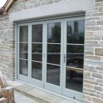 Bi folding exterior doors in UK can be personalized
