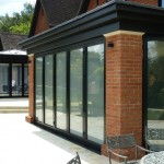 Bi folding exterior patio doors look stunning