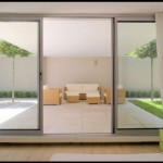 : Commercial glass sliding doors exterior is stylish and chic