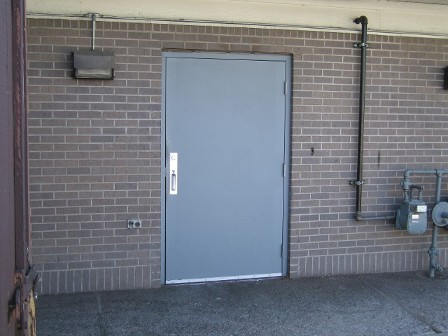 Commercial metal entry doors are made of topquality materials
