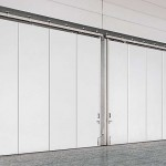 : Commercial sliding doors interior is the same as an exterior