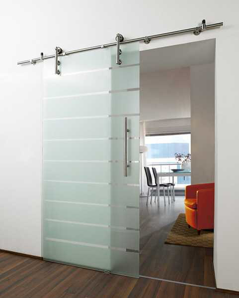 Commercial sliding doors made of glass are ideal for modern buildings