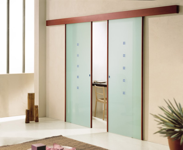 Commercial sliding wood doors are good for closets