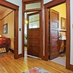 : Craftsman interior doors with glass are considered to be a great way to make your life