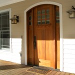 : Craftsman style entry doors with sidelights