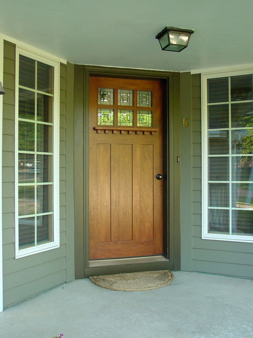 Craftsman style exterior entry doors are going to become best-sellers in