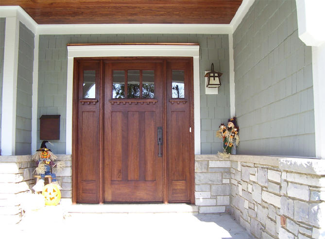 Craftsman style front doors for sale can be found almost in any furniture store