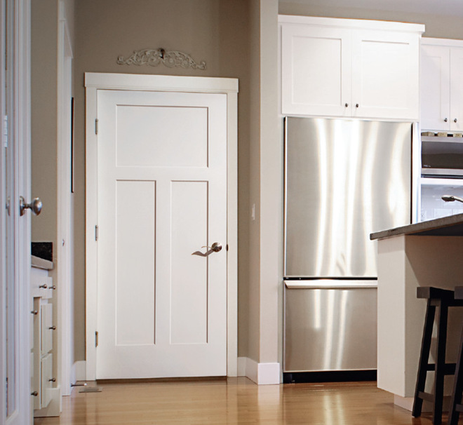 Craftsman style interior doors tend to attract so many customers that stores can