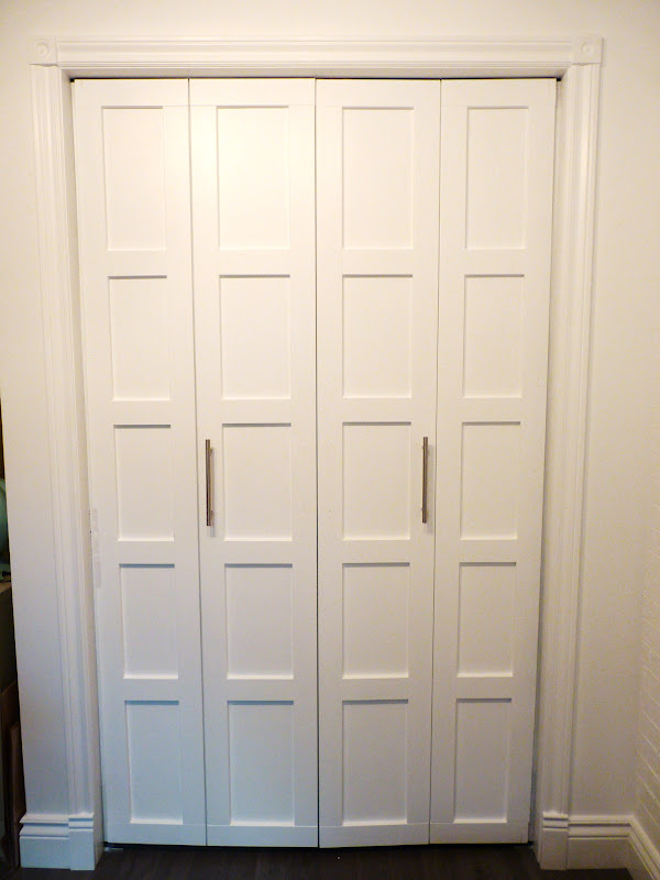 Custom height interior doors are used for very huge rooms