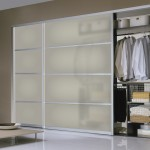 : Custom size interior sliding doors can be used for closets