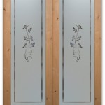 : Custom size internal doors may possess glass inserts