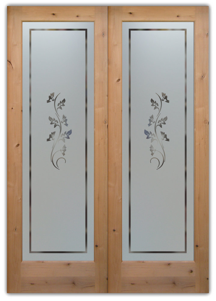 Custom size internal doors may possess glass inserts