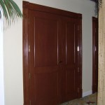 : Custom sized hollow interior doors are sound proof