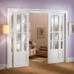 : Decorative interior French doors look esthetic
