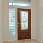 Decorative interior door ideas are represented by inserts
