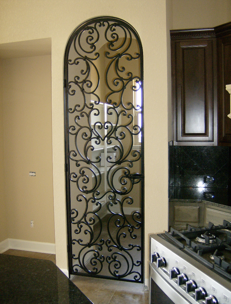 Merveilleux Decorative Wrought Iron Interior Doors Have Dramatic Style | Interior U0026  Exterior Doors Designs, Installation Ideas