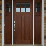: Door craftsman style front doors are getting more and more popular today
