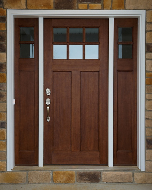 door craftsman style front doors are getting more and more popular