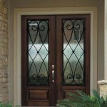 : Double doors for front entry can have a style you prefer