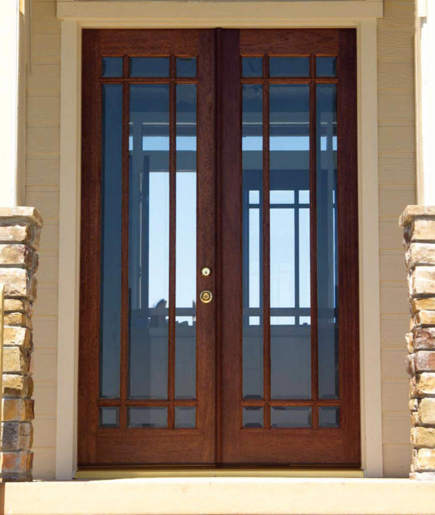 Double front entry doors are widely used in the UK