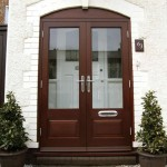 : Double glazed exterior wooden doors add splendour to your home