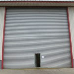 : Electric roll up door will be easily opened and closed in a couple of seconds