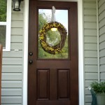 : Entry doors for the home should be durable