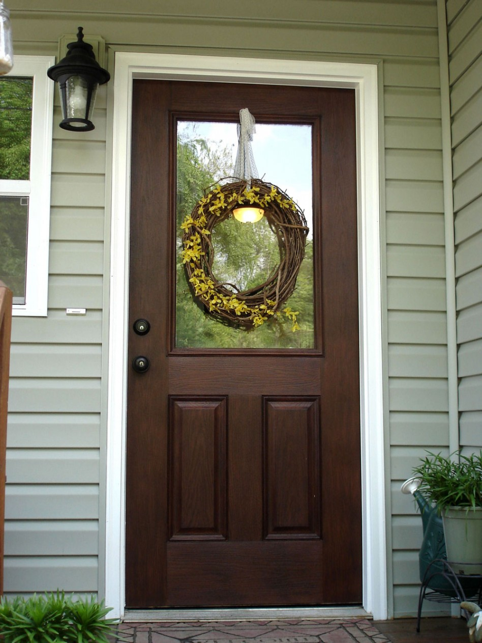 Entry doors for the home should be durable