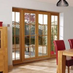 : Exterior French doors are durable for rough opening