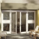 : Exterior French doors that swing out is a wonderful alternative