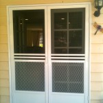 : Exterior French doors with side panels look perfectly in houses